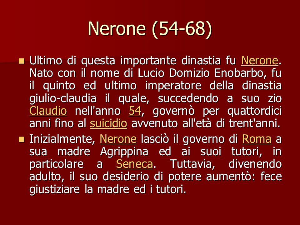 Malgrado la mancanza di esperienza politica, Tiberio Claudio Cesare Augusto Germanico, questo il nome adottato dopo l'acclamazione ad imperatore, dimo
