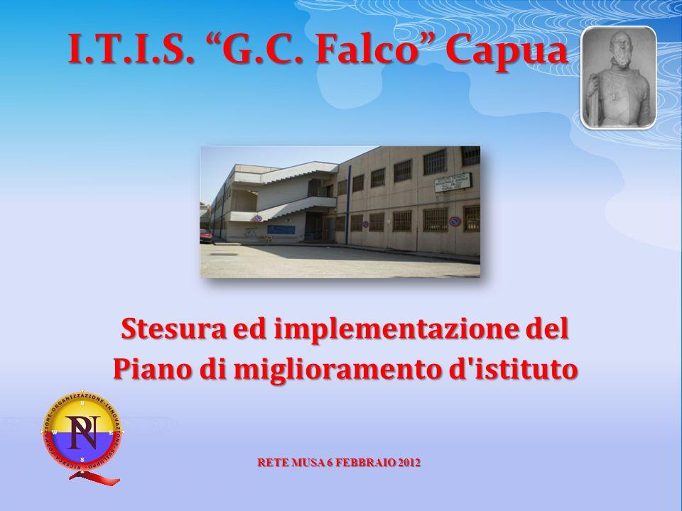 I.T.I.S. G.C. Falco Capua Stesura ed implementazione del Piano di miglioramento d'istituto RETE MUSA 6 FEBBRAIO 2012