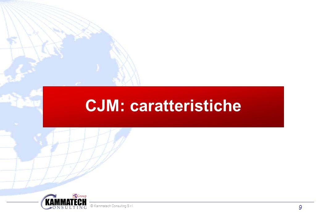 © Kammatech Consulting S.r.l. 9 CJM: caratteristiche