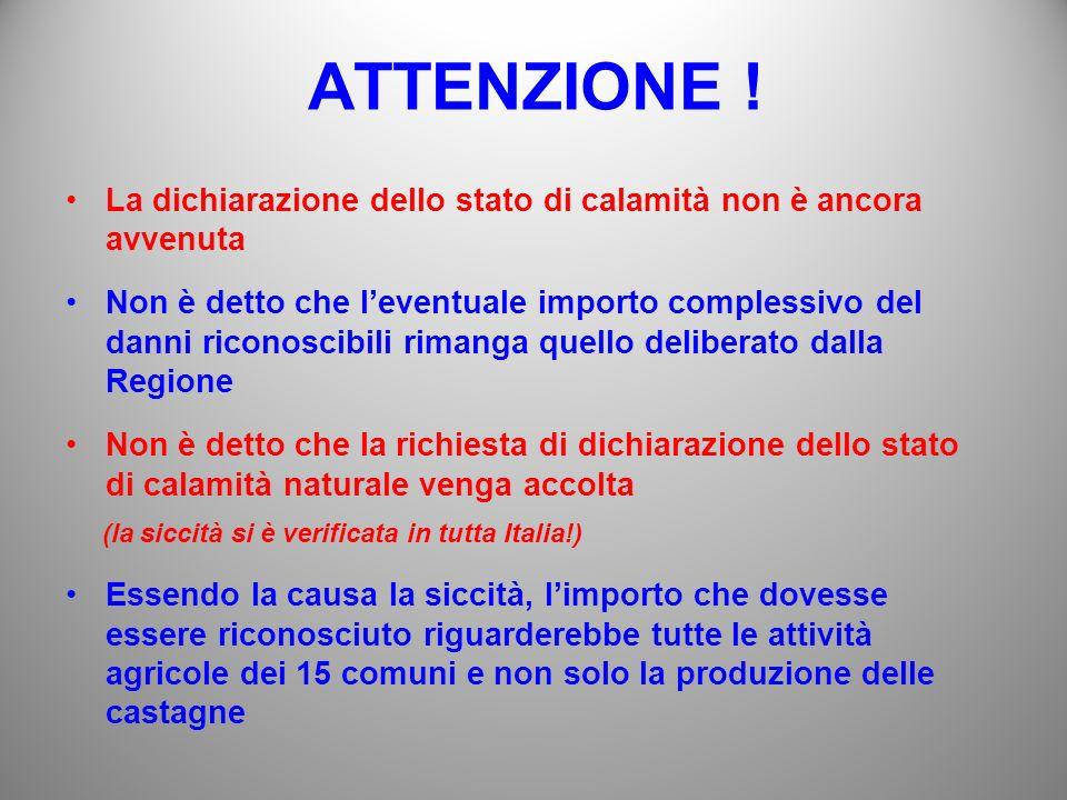 ATTENZIONE .