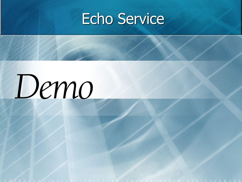 Echo Service