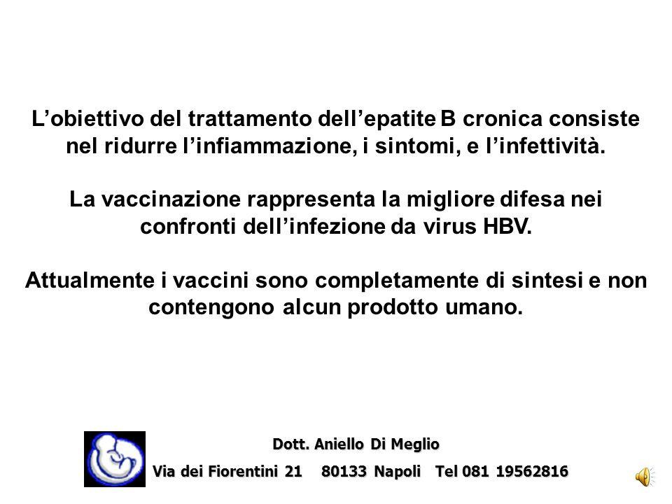 Lobiettivo del trattamento dellepatite B cronica consiste nel ridurre linfiammazione, i sintomi, e linfettività.