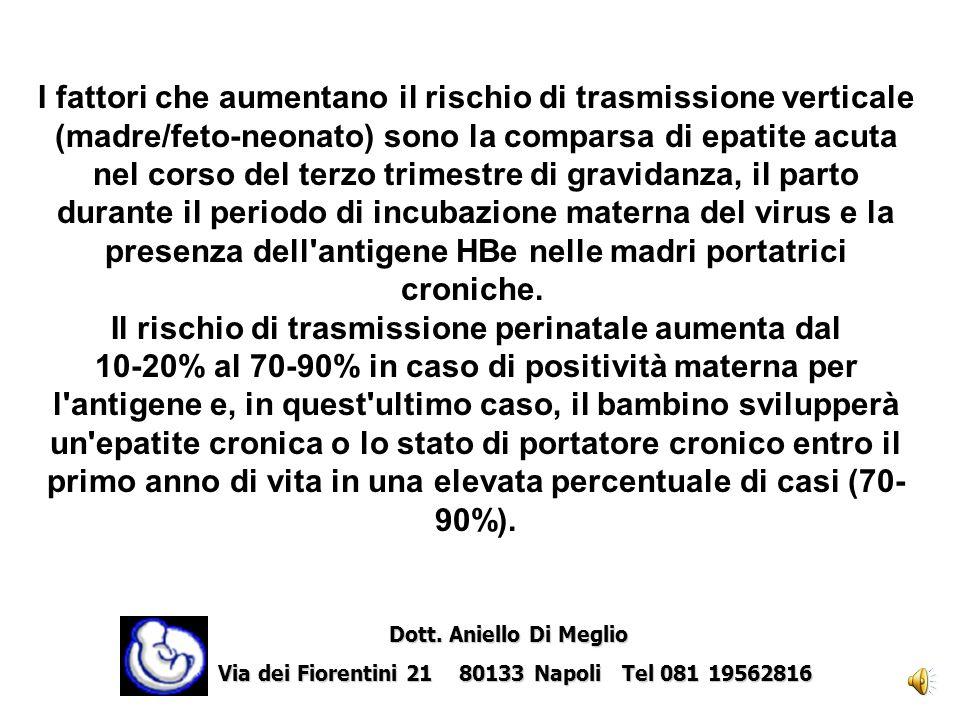 Il periodo intrapartum è certamente cruciale per la trasmissione verticale dellHIV, di conseguenza alcuni interventi sulle modalità del parto potrebbero essere determinanti nella prevenzione dellinfezione Dott.