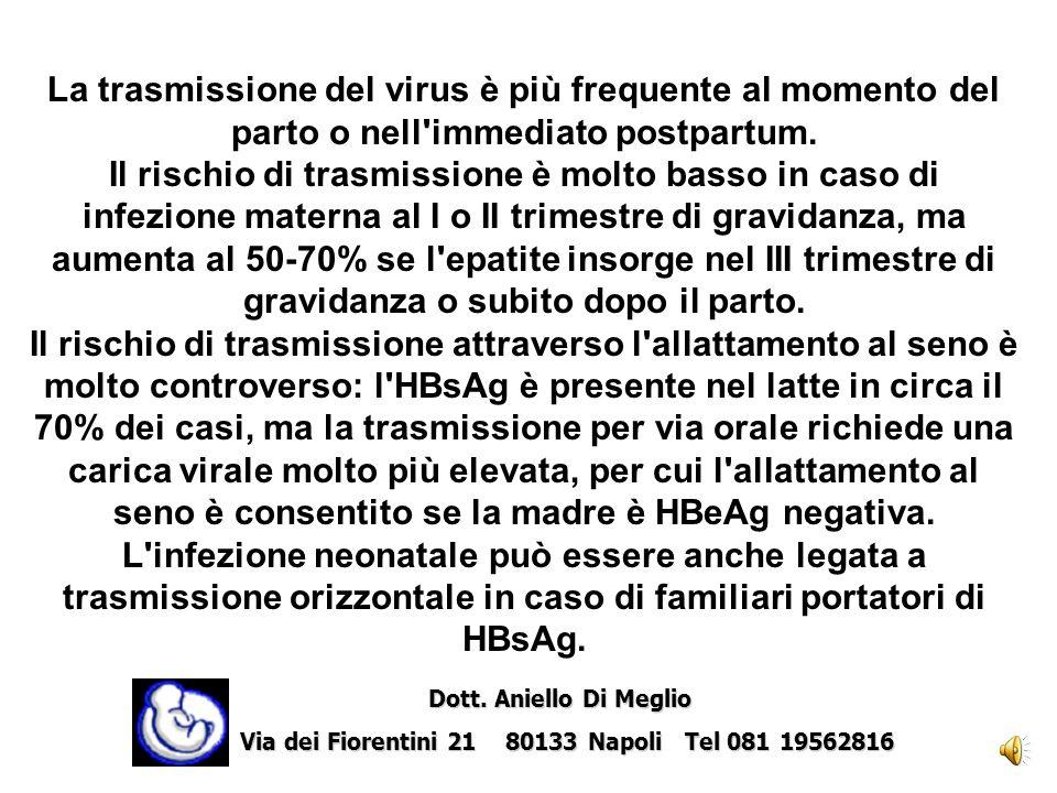 Attualmente nel mondo i nuovi casi pediatrici di infezione da HIV sono nella quasi totalità dovuti alla trasmissione verticale del virus.