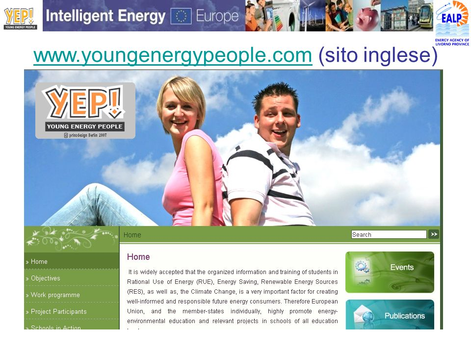 www.youngenergypeople.comwww.youngenergypeople.com (sito inglese)