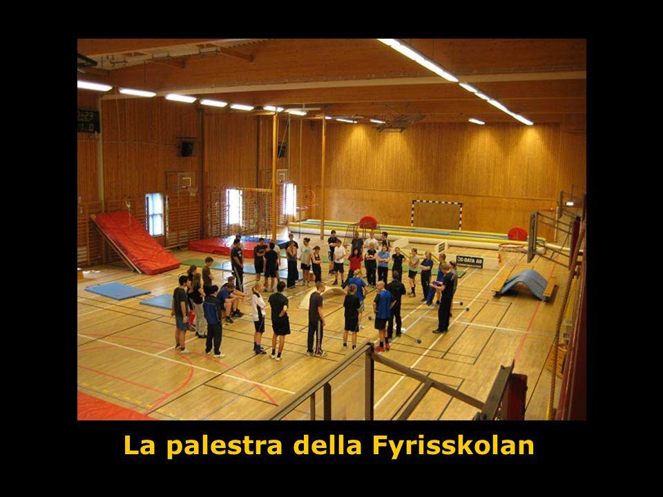 La palestra della Fyrisskolan
