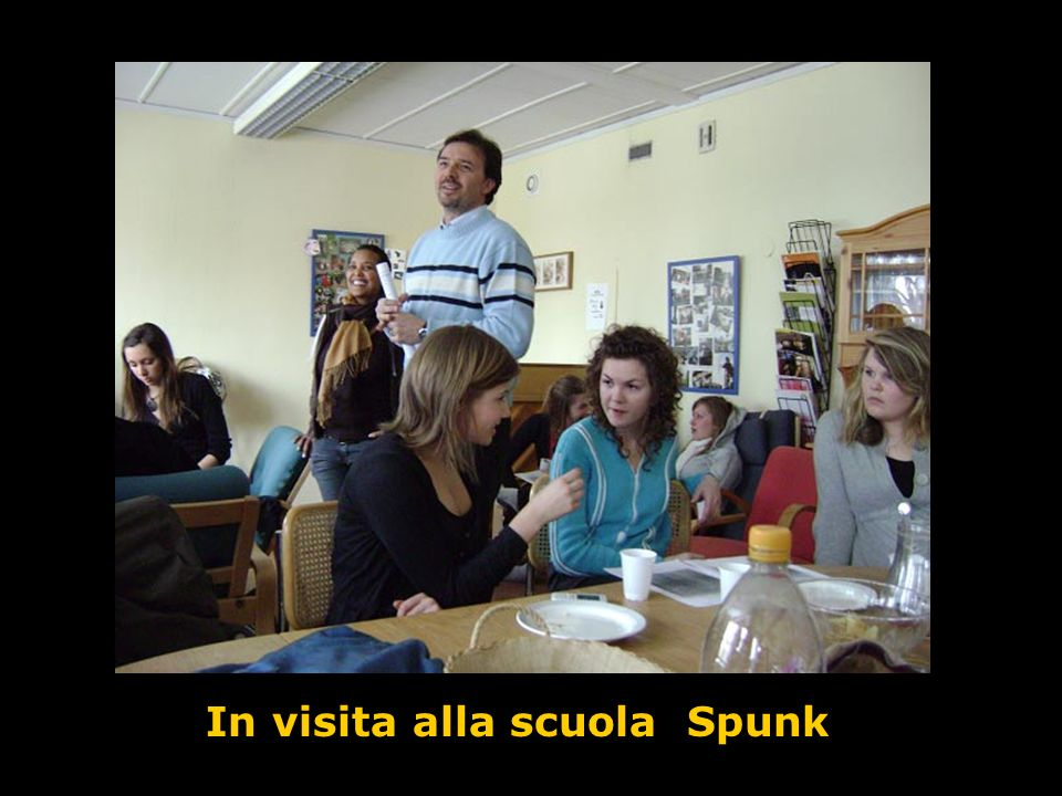 In visita alla scuola Spunk