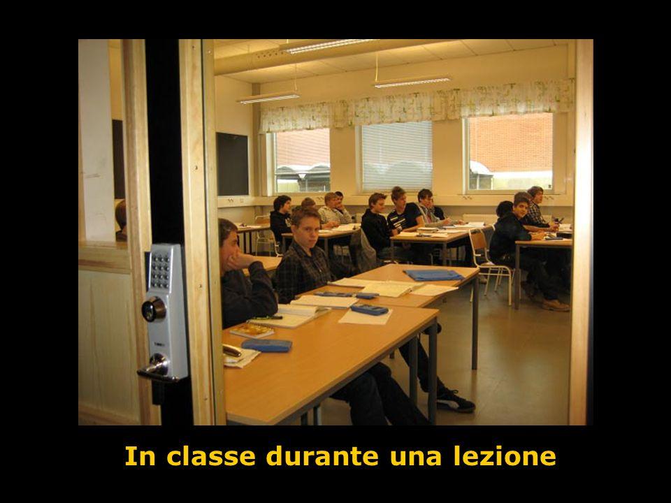 In classe durante una lezione