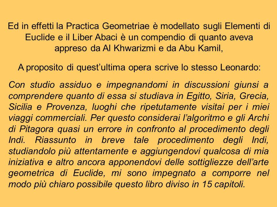 A proposito di questultima opera scrive lo stesso Leonardo: Con studio assiduo e impegnandomi in discussioni giunsi a comprendere quanto di essa si st