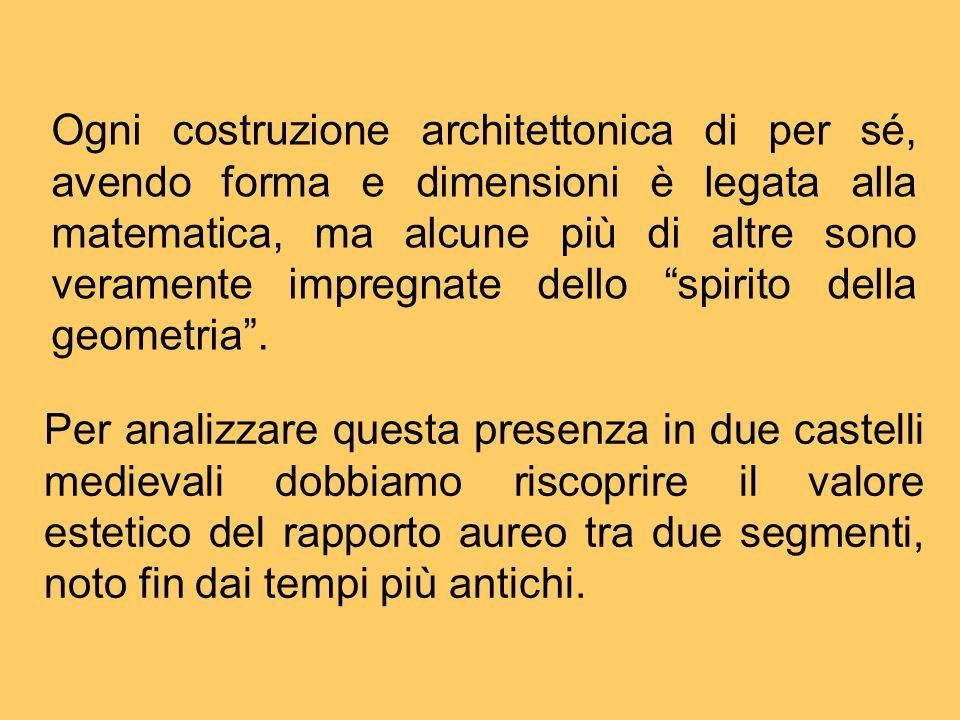 Ogni costruzione architettonica di per sé, avendo forma e dimensioni è legata alla matematica, ma alcune più di altre sono veramente impregnate dello