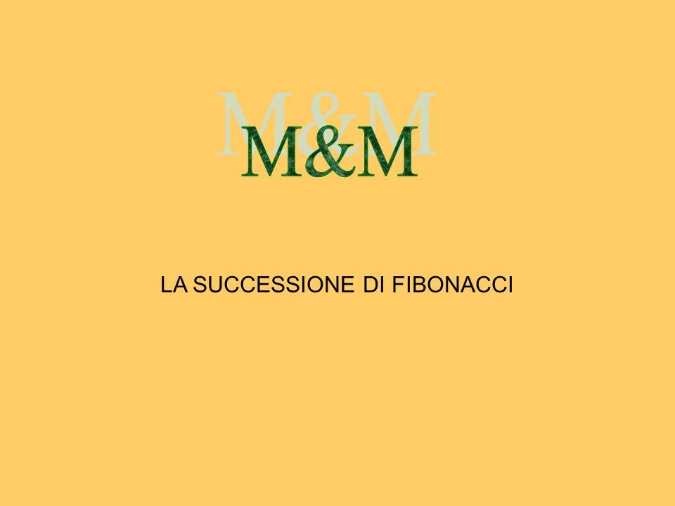 LA SUCCESSIONE DI FIBONACCI