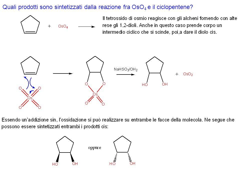 IDROGENAZIONE CATALITICA Questa reazione può avvenire solo in presenza di un catalizzatore metallico come Pt, Pd, Ni.