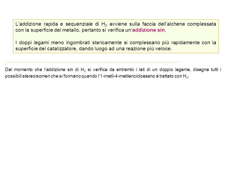 Alchini Suffisso : -ino Indicare la posizione del triplo legame con il numero che lo contraddistingue nella catena.