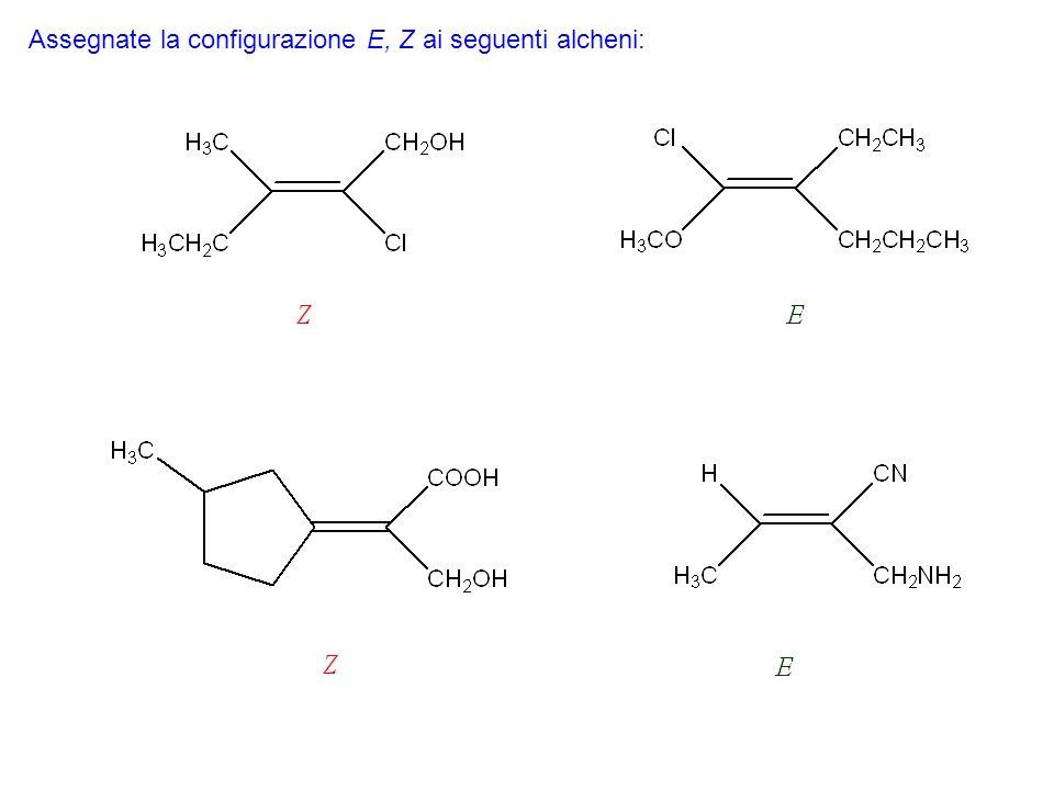 Gli alcheni si comportano da nucleofili.