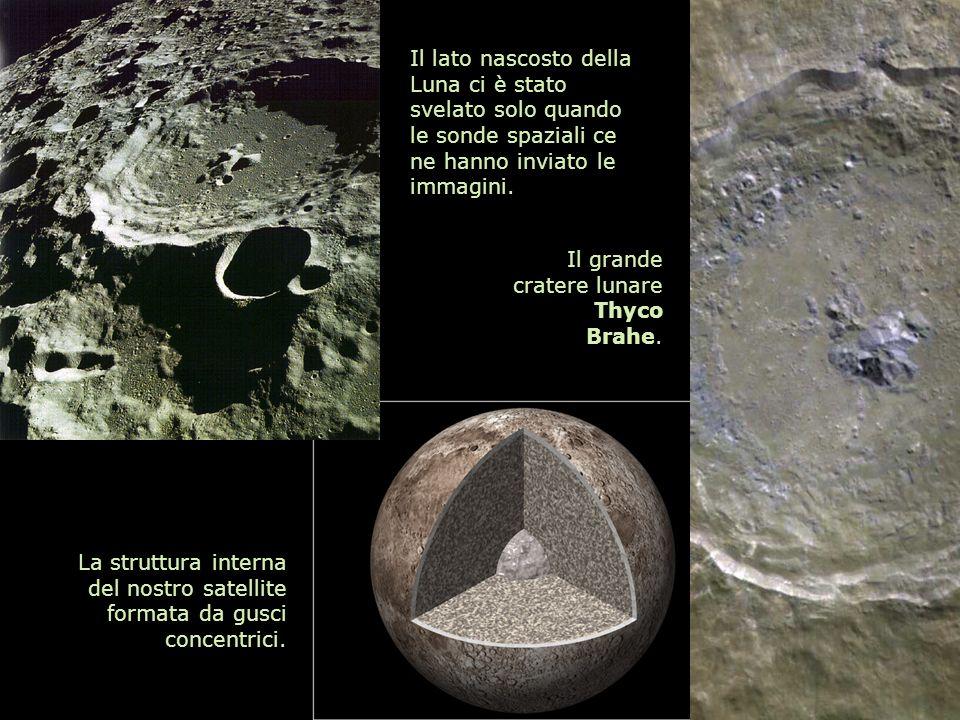 Il lato nascosto della Luna ci è stato svelato solo quando le sonde spaziali ce ne hanno inviato le immagini. Il grande cratere lunare Thyco Brahe. La