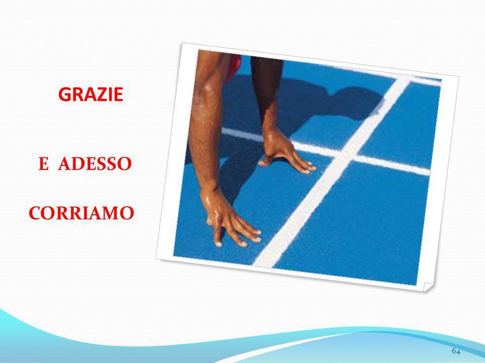 GRAZIE E ADESSO CORRIAMO 64