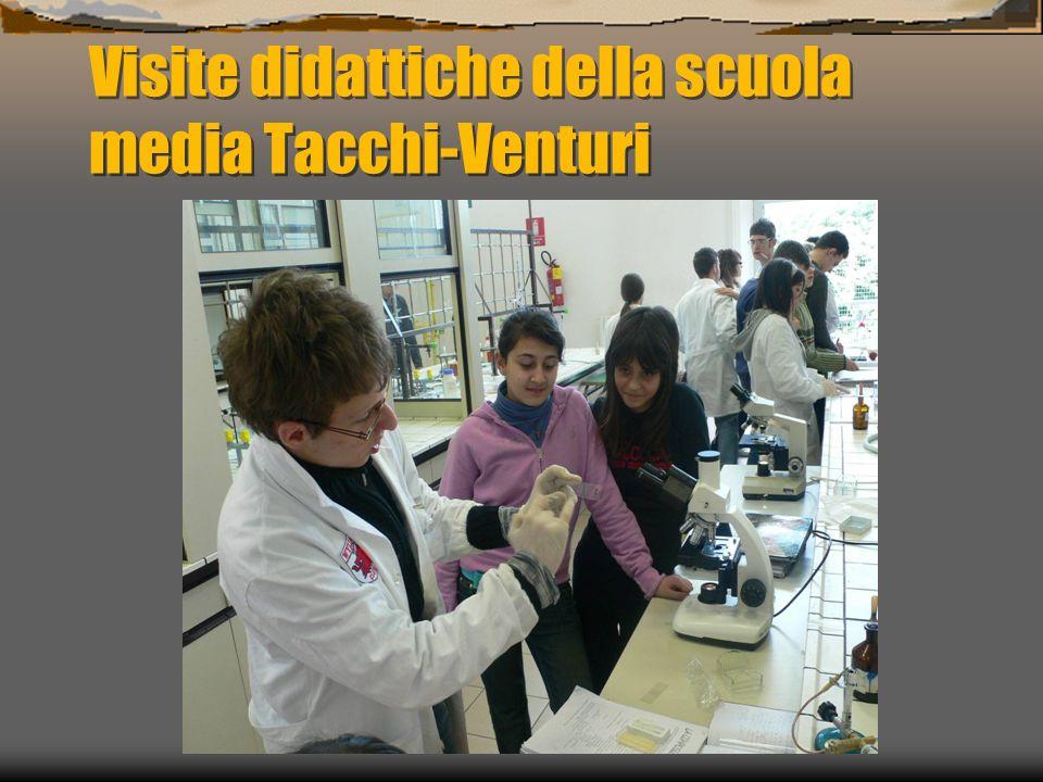 Visite didattiche della scuola media Tacchi-Venturi