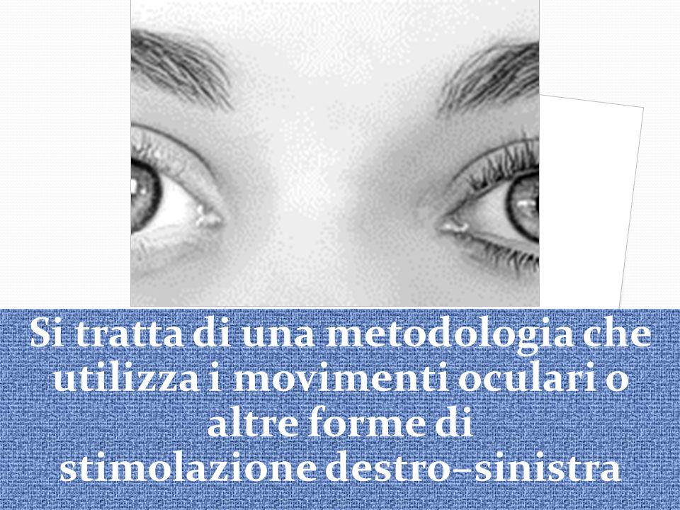 Si tratta di una metodologia che utilizza i movimenti oculari o altre forme di stimolazione destro–sinistra