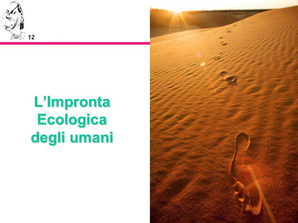 12 LImpronta Ecologica degli umani