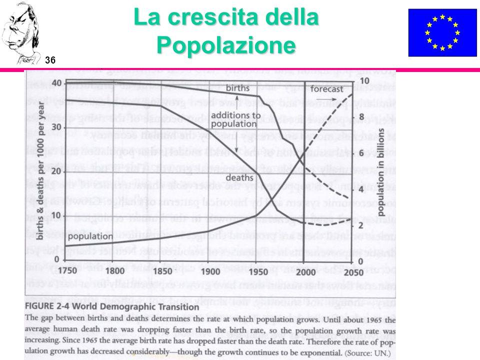 36 La crescita della Popolazione