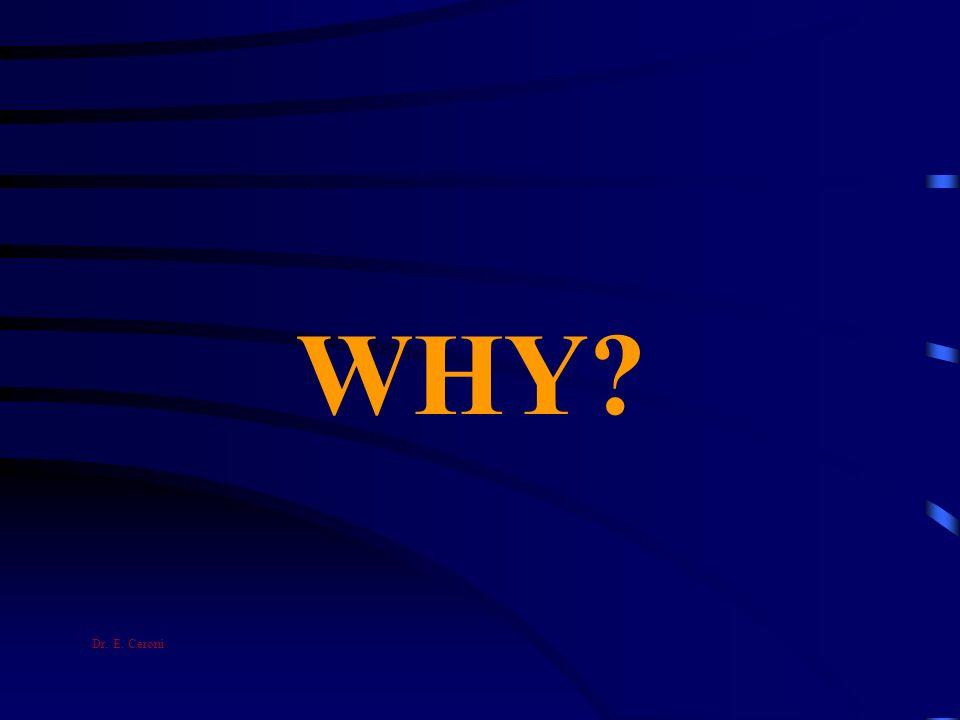 WHY? Dr. E. Ceroni