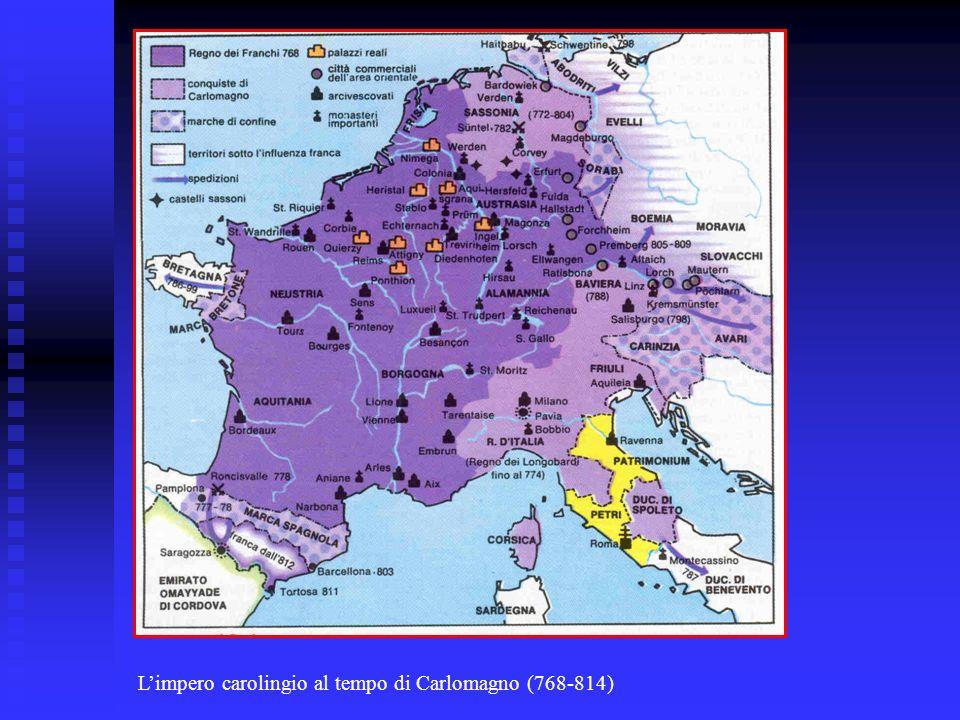 Limpero carolingio al tempo di Carlomagno (768-814)