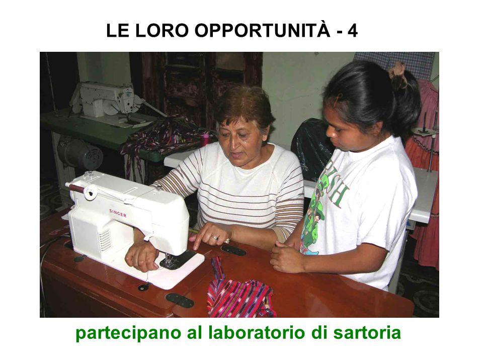 partecipano al laboratorio di sartoria LE LORO OPPORTUNITÀ - 4