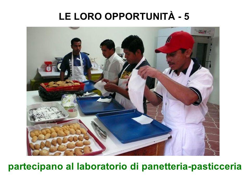 partecipano al laboratorio di panetteria-pasticceria LE LORO OPPORTUNITÀ - 5