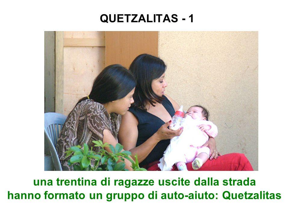 QUETZALITAS - 1 una trentina di ragazze uscite dalla strada hanno formato un gruppo di auto-aiuto: Quetzalitas