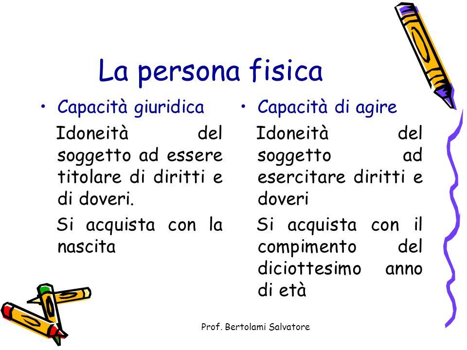 Prof. Bertolami Salvatore Il rapporto giuridico Il rapporto giuridico è una relazione tra due o più soggetti regolata dal diritto (oggettivo).