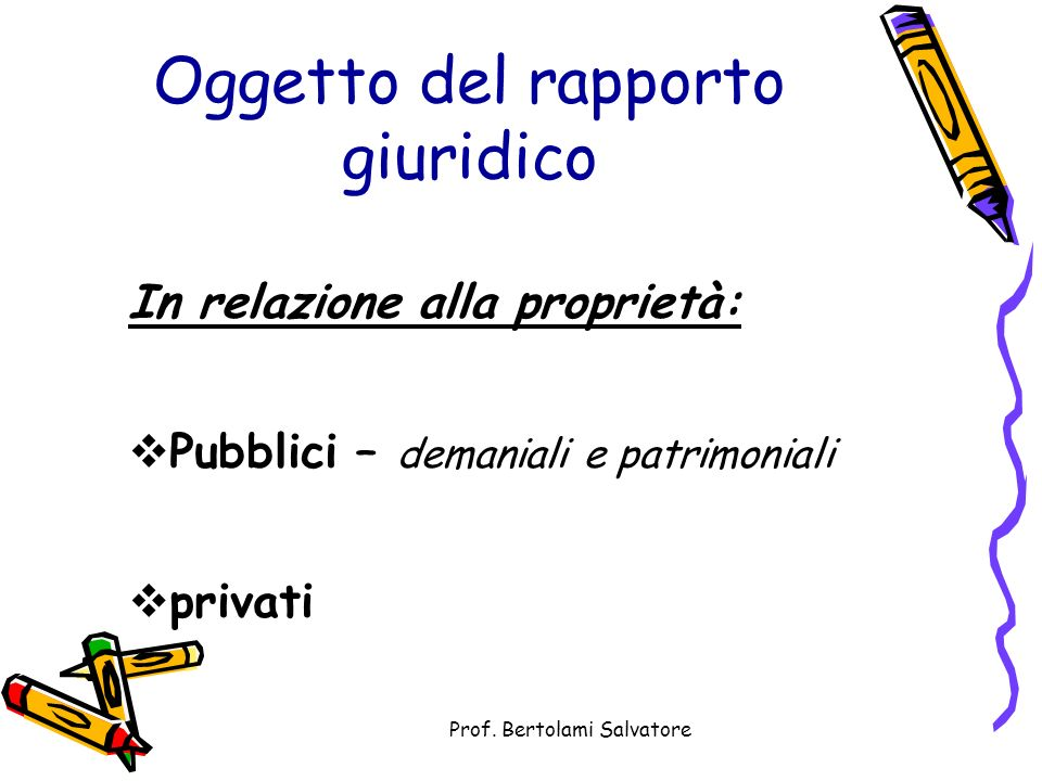 Prof. Bertolami Salvatore Altro Schede di approfondimento