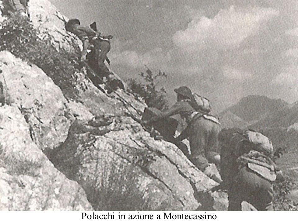 Polacchi in azione a Montecassino