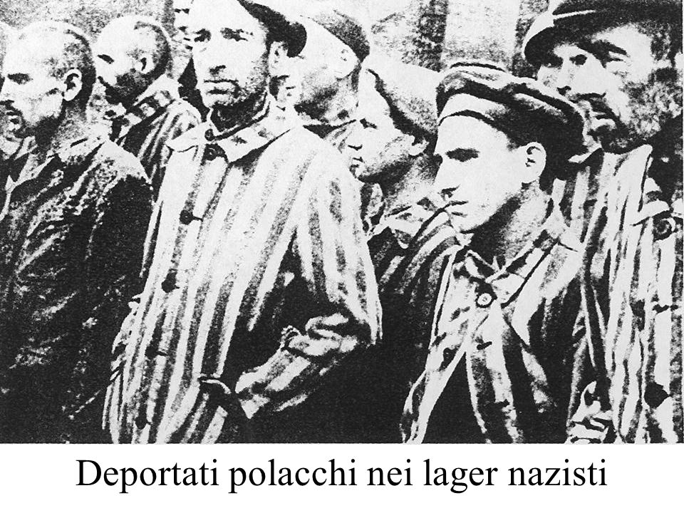 Ho sempre avuto nostalgia della Polonia.Provammo grandissima delusione.
