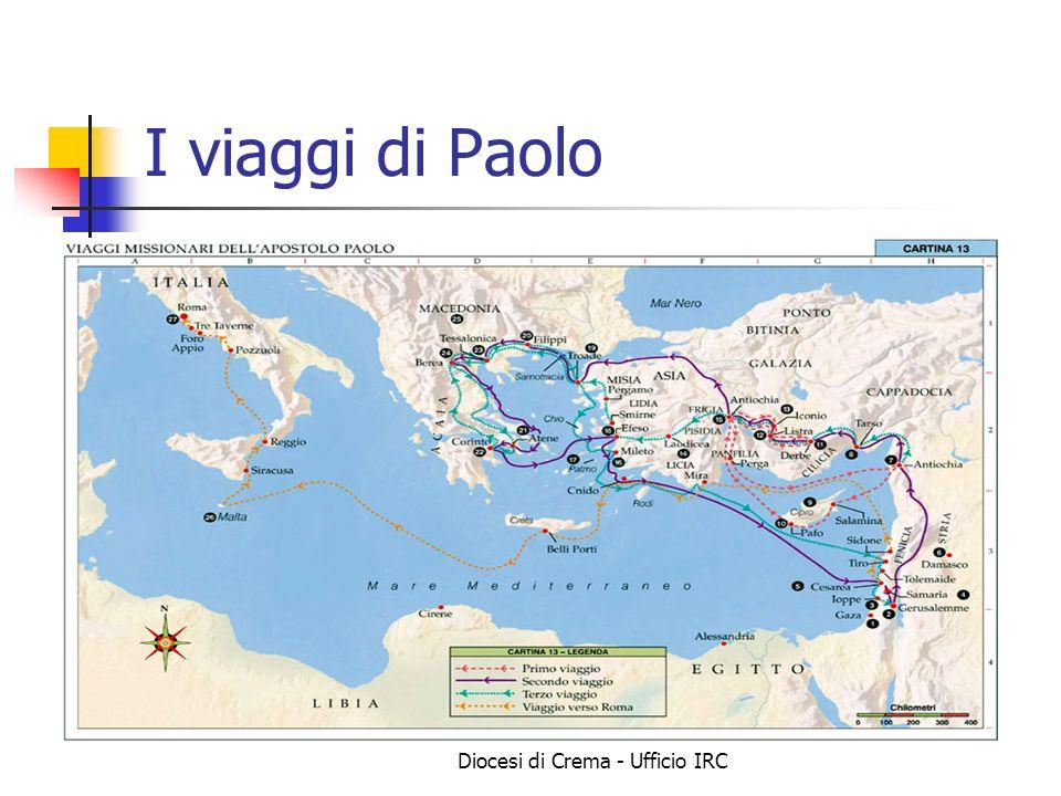 Diocesi di Crema - Ufficio IRC I viaggi di Paolo