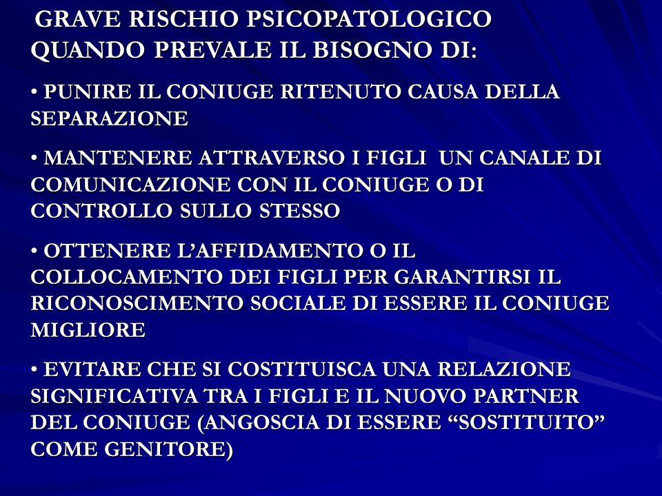 CASO B A SEGUITO DELLAPPROVAZIONE DELLA LEGGE 54/2006 IL SIG.