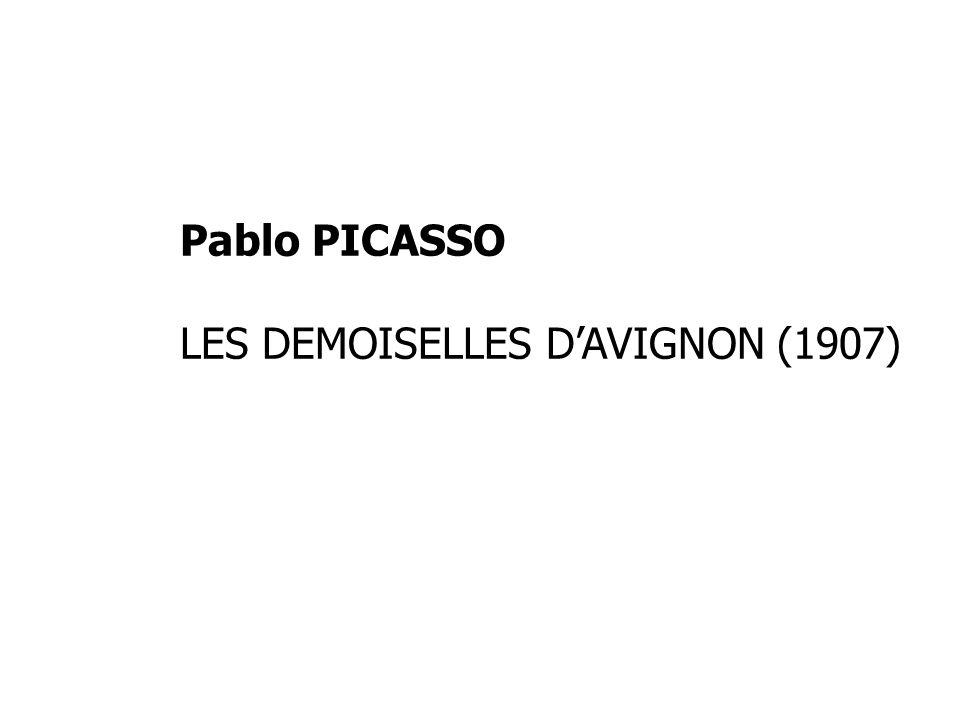 Pablo PICASSO LES DEMOISELLES DAVIGNON (1907)