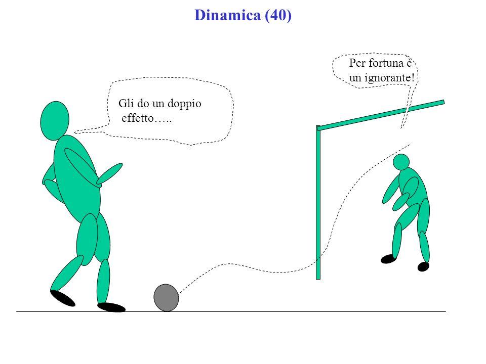 Dinamica (40) Gli do un doppio effetto….. Per fortuna è un ignorante!