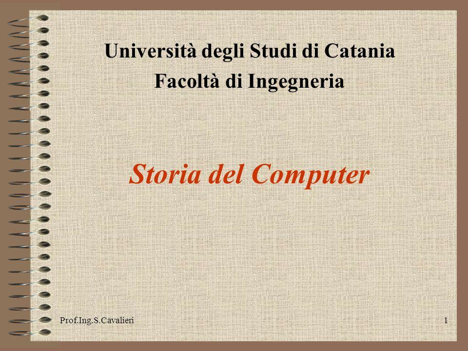 Prof.Ing.S.Cavalieri22 1970 Il MOS (metal-oxide semiconductor) della RCA offre circuiti integrati più piccoli ed economici.