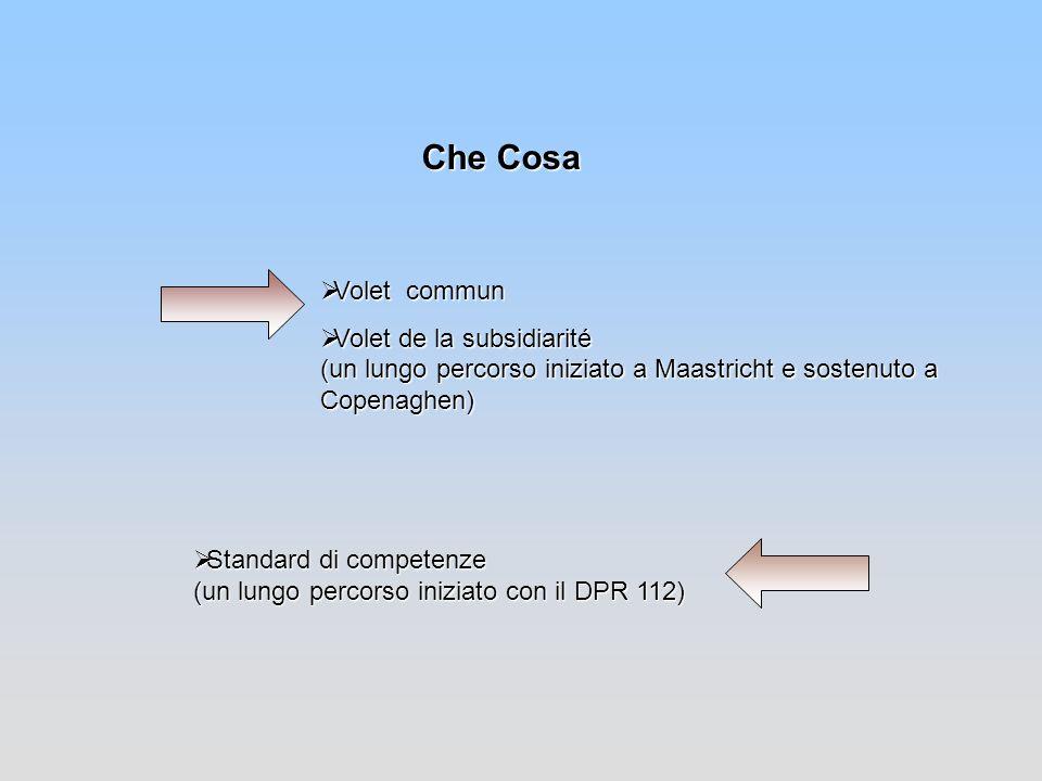 Che Cosa Volet Commun Volet Commun (Accordo 1 agosto 2002 - 11 novembre 2002)