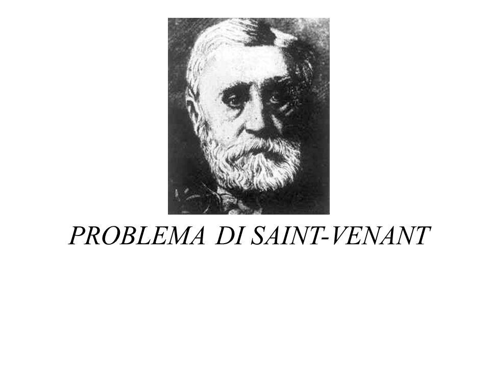 PROBLEMA DI SAINT-VENANT