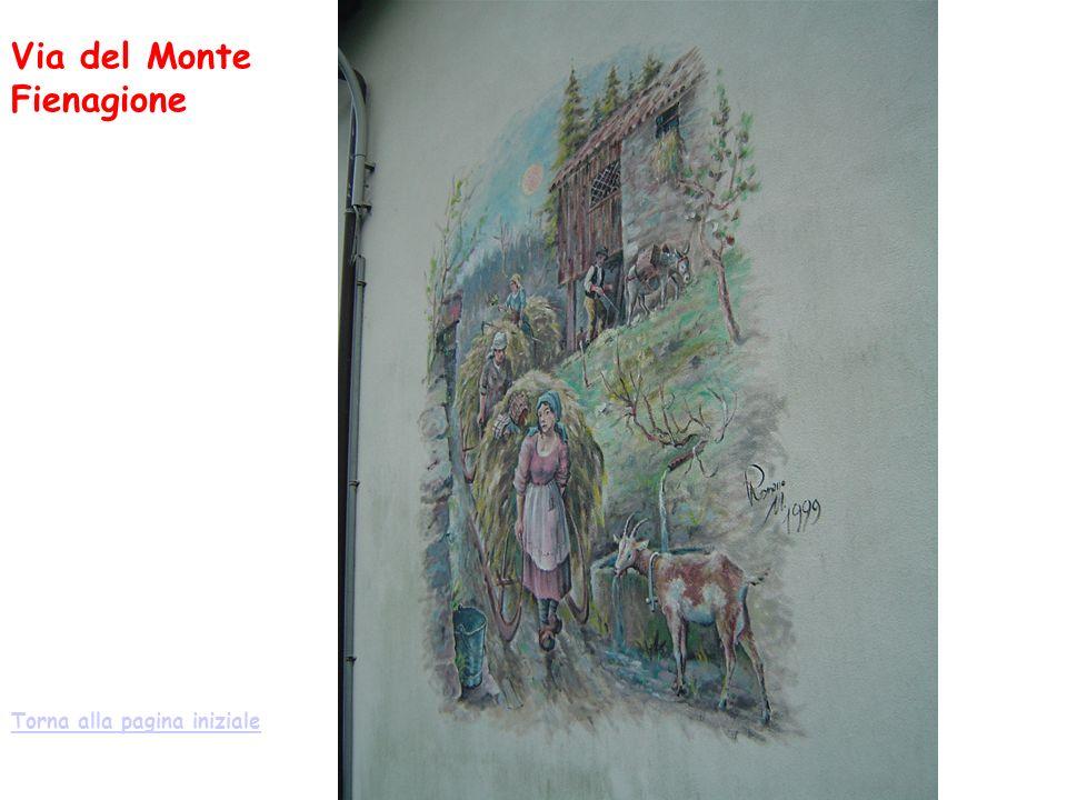 Via del Monte Fienagione Torna alla pagina iniziale