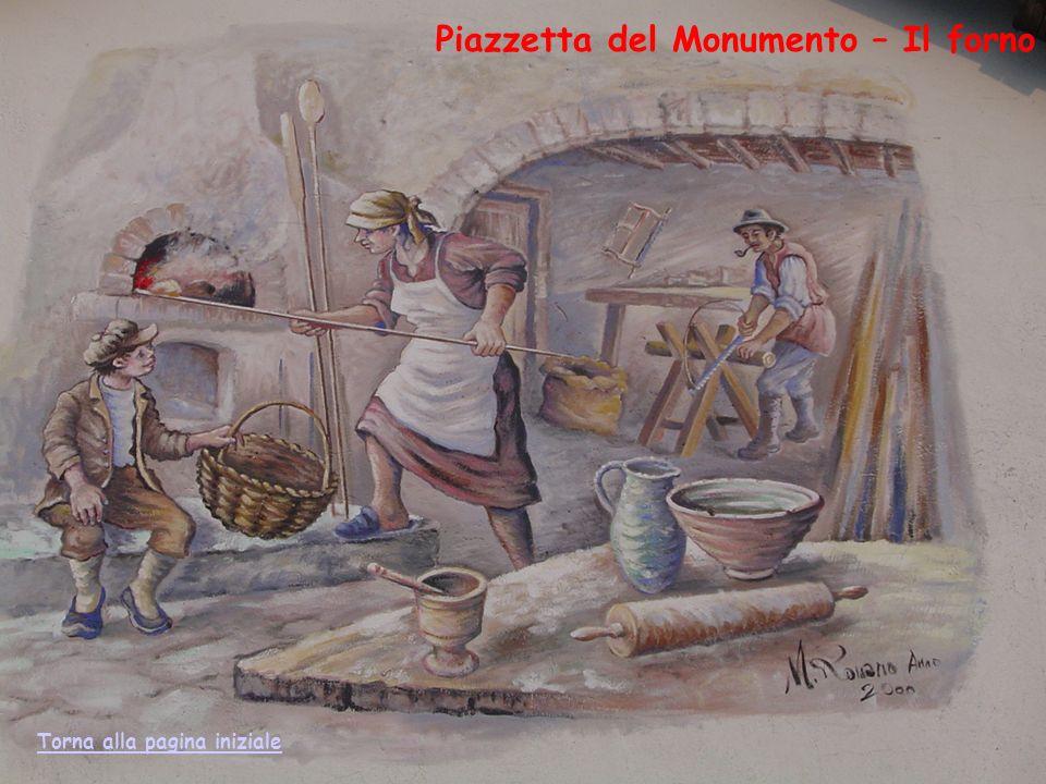 Piazzetta del Monumento – Il forno Torna alla pagina iniziale