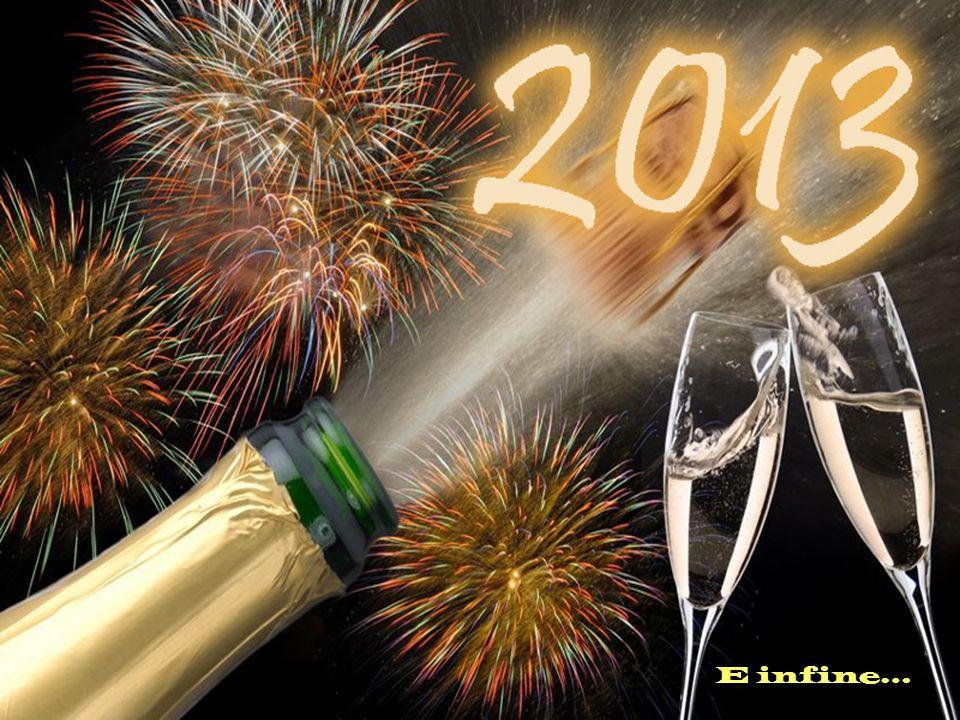 Per questo 2013 ti auguro 365 notti di splendidi sogni e 365 giorni in cui realizzarli.