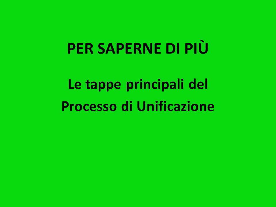 1861: NASCE L'ITALIA Sono le parole che si possono leggere nel documento della Legge n. 4671 del Regno di Sardegna e valgono come Proclamazione uffici