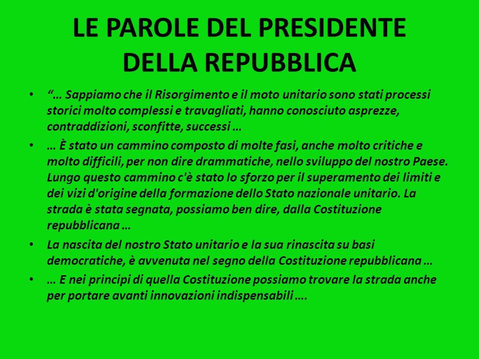RISORGIMENTO E RESISTENZA Un filo diretto collega Risorgimento e Resistenza antifascista, come hanno sottolineato spesso gli studiosi e lattuale Presi