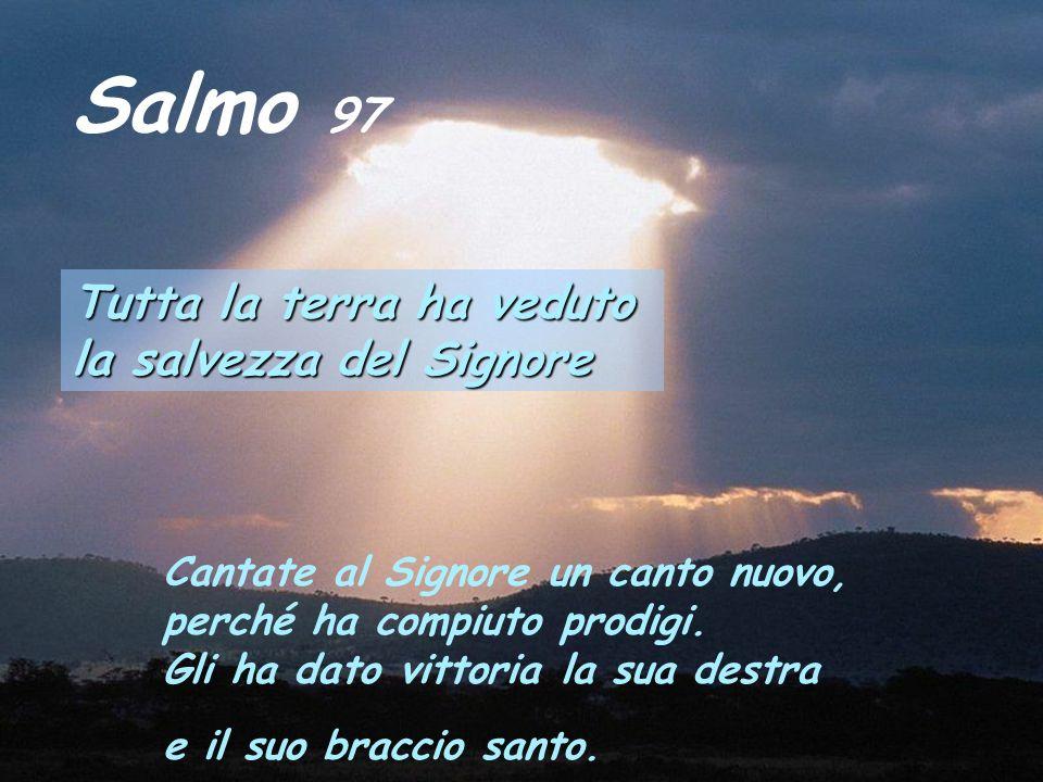 Dal libro del profeta Isaìa Is 52,7-10 Come sono belli sui monti i piedi del messaggero di lieti annunzi che annunzia la pace, messaggero di bene che