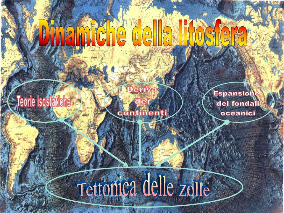 Nella seconda metà dellOttocento, con laffermarsi delle teorie isostatiche, cominciò a farsi strada lidea che le grandi masse continentali possono muoversi.