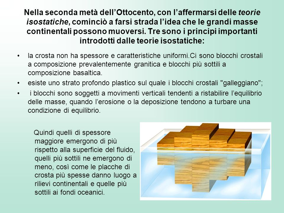 Dorsale oceaniche Pianure abissali Fosse oceaniche Sistema arco-fossa Crosta oceanicaCrosta oceanica