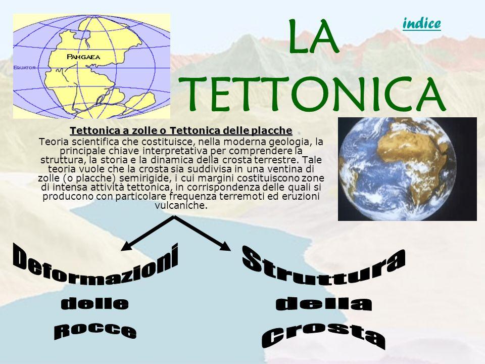 LA TETTONICA Tettonica a zolle o Tettonica delle placche Teoria scientifica che costituisce, nella moderna geologia, la principale chiave interpretati