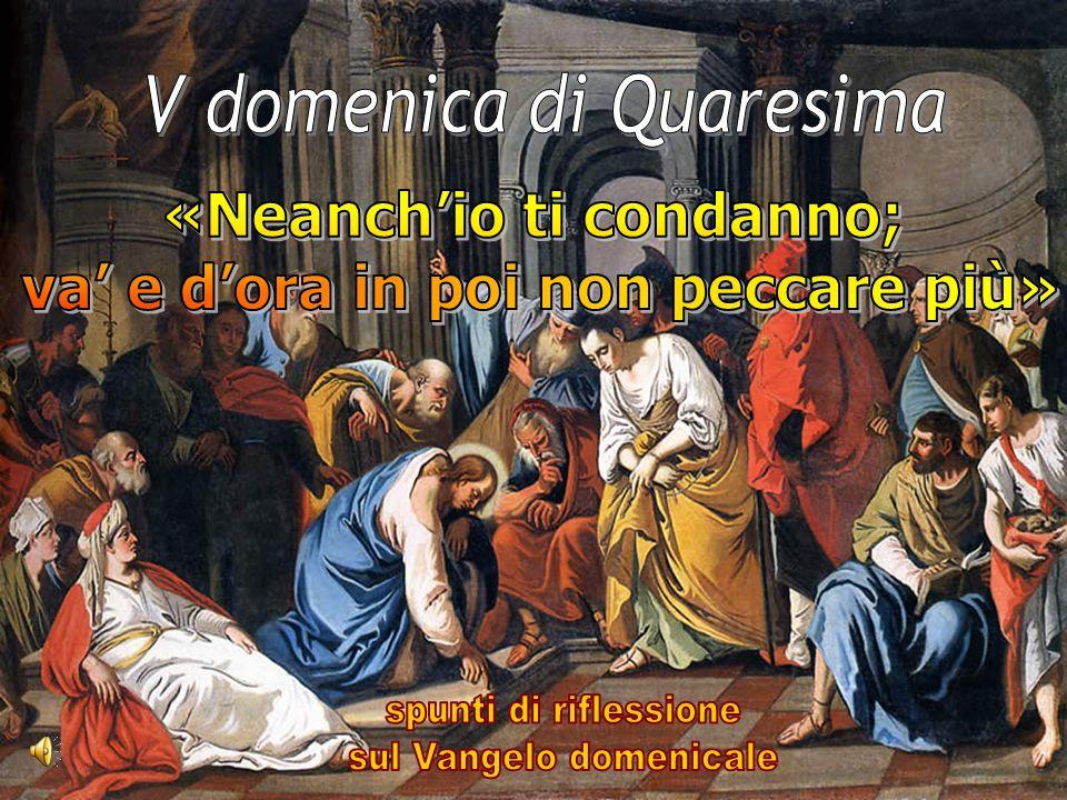 Gesù, davanti ai farisei, difende simultaneamente la verità e la misericordia con una risposta meravigliosa.
